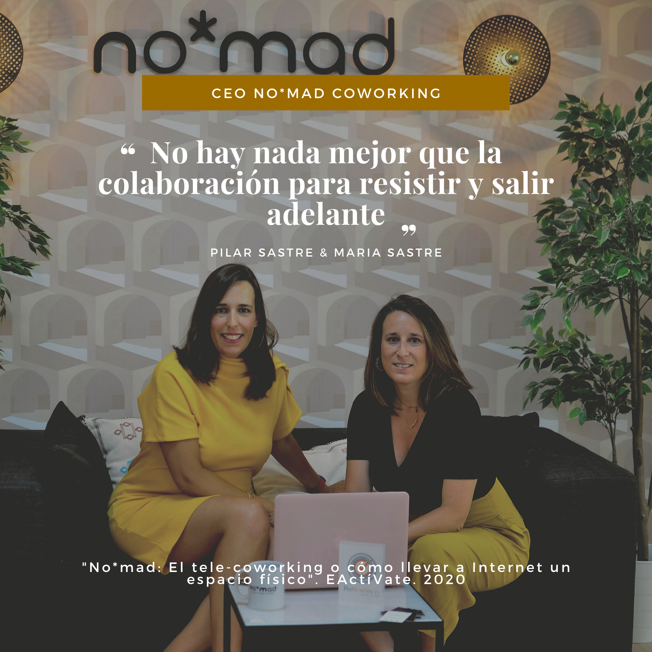 Historia del telecoworking no*mad